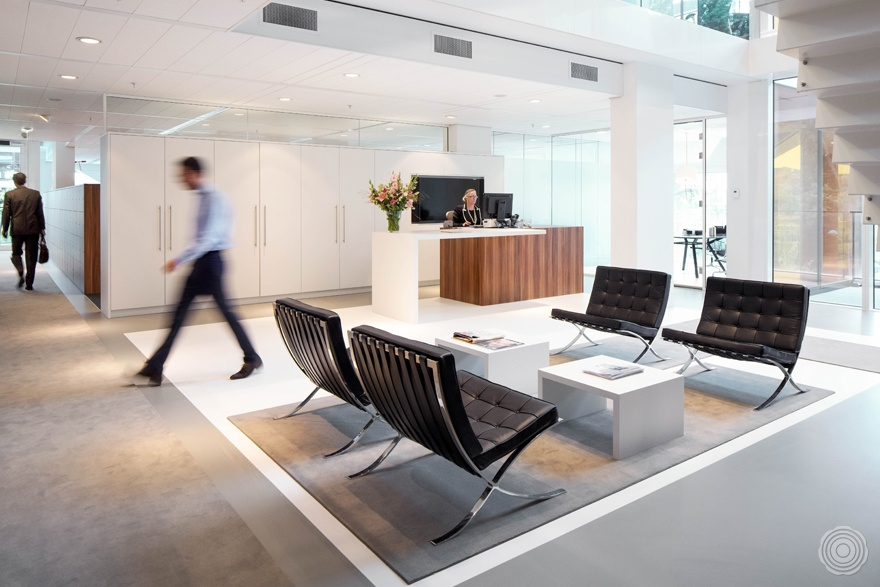 the interior design for the new headoffice offered functiona
